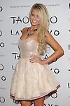 Holly Madison and her boyfriend, celebrate New Years Eve at LAVO nightclub Las Vegas, with Angel Porrino, December 31, 2010  (c) Al Powers, RETNA Ltd