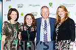Kerry maypr Brendan Cronin with l-r: Neasa Ní Bhric Dingle, Maeve McGrath Artistic Director and Sinead O'Loughlin   at the Kerry Film Festival in the Gleneagle Hotel on Sunday night
