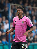 Darnell Furlong (Loanee from QPR) of Northampton Town during the Sky Bet League 2 match between Wycombe Wanderers and Northampton Town at Adams Park, High Wycombe, England on 3 October 2015. Photo by Andy Rowland.