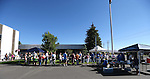 People line up for breakfast at the Summer Reading Program Pancake Breakfast Kick-Off at the Carson City Library, in Carson City, Nev., on Saturday, June 8, 2013. <br /> Photo by Cathleen Allison