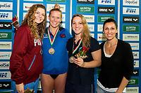 """100 misti Donne <br /> 1. Laura Letrari (Esercito/Bolzano Nuoto) 59""""97<br /> 2. Ilaria Cusinato (Fiamme Oro Roma/Team Veneto) 1'00""""42<br /> 3. Ilaria Bianchi (Fiamme Azzurre/Azzurra 91) 1'00""""54 <br /> Cristina CHIUSO <br /> Riccione 02-12-2017 Stadio del Nuoto <br /> Campionati Italiani Assoluti FIN 2017 Vasca Corta <br /> Foto Andrea Staccioli / Deepbluemedia / Insidefoto"""