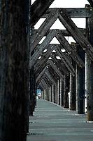 Looking down the dock, Everett Washington.