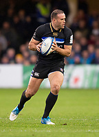 Bath Rugby's Jamie Roberts<br /> <br /> Photographer Bob Bradford/CameraSport<br /> <br /> Heineken Champions Cup Pool 1 - Bath v Leinster - Saturday 8th December 2018 - The Recreation Ground - Bath<br /> <br /> World Copyright © 2018 CameraSport. All rights reserved. 43 Linden Ave. Countesthorpe. Leicester. England. LE8 5PG - Tel: +44 (0) 116 277 4147 - admin@camerasport.com - www.camerasport.com