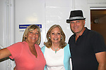 Kim Zimmer - Tina Sloan - Robert Newman - Day 5, August 4, 2010 - So Long Springfield at Sea - A Final Farewell To Guiding Light sets sail from NYC to St. John, New Brunwsick and Halifax, Nova Scotia from July 31 to August 5, 2010  aboard Carnival's Glory (Photos by Sue Coflin/Max Photos)