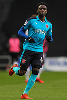 Fleetwood Town's Devante Cole<br /> <br /> Photographer Andrew Kearns/CameraSport<br /> <br /> The EFL Sky Bet League One - Milton Keynes Dons v Fleetwood Town - Saturday 11th November 2017 - Stadium MK - Milton Keynes<br /> <br /> World Copyright &copy; 2017 CameraSport. All rights reserved. 43 Linden Ave. Countesthorpe. Leicester. England. LE8 5PG - Tel: +44 (0) 116 277 4147 - admin@camerasport.com - www.camerasport.com