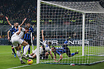 Mario Pasalic of Atalanta scrambles to keep the ball in play from a corner kick during the Serie A match at Giuseppe Meazza, Milan. Picture date: 11th January 2020. Picture credit should read: Jonathan Moscrop/Sportimage