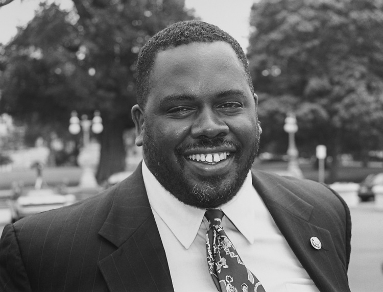 Rep. Albert Wynn, D-Md., on July 18, 1994. (Photo by Chris Martin/CQ Roll Call via Getty Images)