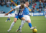 Kilmarnock v St Johnstone...19.09.15  SPFL Rugby Park, Kilmarnock<br /> Lee Ashcroft battles with Brian Easton<br /> Picture by Graeme Hart.<br /> Copyright Perthshire Picture Agency<br /> Tel: 01738 623350  Mobile: 07990 594431