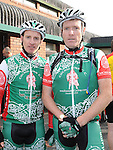 Gary Morton and jason Boyle who took part in the Ardee Cycle club 50Km cycle. Photo: Colin Bell/pressphotos.ie