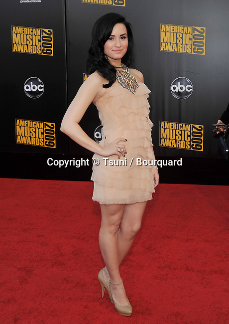 Demi Lovato _30 -<br /> 2009 American Music Awards at the Nokia Theatre In Los Angeles.