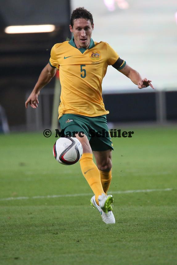 Mark milligan (AUS) - Deutschland vs. Australien, Fritz-Walter-Stadion Kaiserslautern