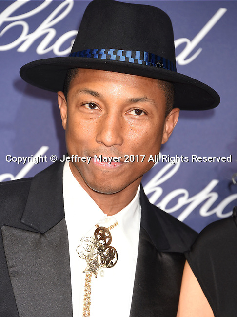 PALM SPRINGS, CA - JANUARY 02: Producer Pharrell Williams attends the 28th Annual Palm Springs International Film Festival Film Awards Gala at the Palm Springs Convention Center on January 2, 2017 in Palm Springs, California.