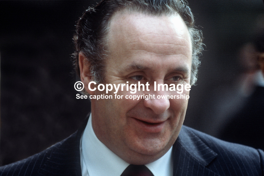 Paddy Harte, TD, Fine Gael, spokesman, security, N Ireland matters, Rep of Ireland, 197805000165PH2..Copyright Image from Victor Patterson, 54 Dorchester Park, Belfast, United Kingdom, UK...For my Terms and Conditions of Use go to http://www.victorpatterson.com/Victor_Patterson/Terms_%26_Conditions.html
