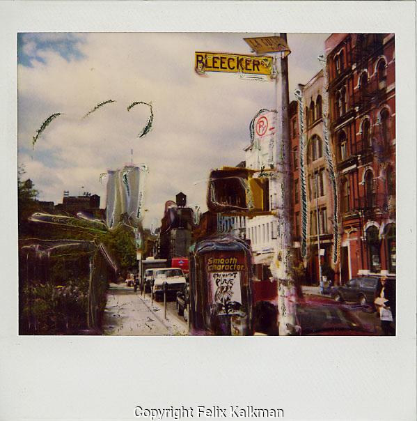 USA, New York City, 1989.Corner Bleecker/La Guardia..Photo by Felix Kalkman