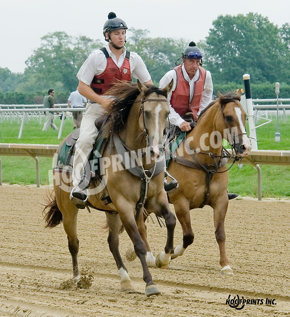 Outriders at Delaware Park on 8/20/14