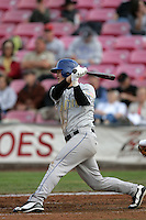 July 8 2009: Joe Sanders of the Tri City Dust Devils during game against the Salem-Kaizer Volcanoes at Volcano  Stadium in Kaizer,OR.  Photo by Larry Goren/Four Seam Images