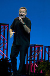 """HOLLYWOOD, FL - OCTOBER 21: Robin Williams performs live during his tour """"Weapons of Self-Destruction"""" at the Hard Rock Live at the Seminole Hard Rock Hotel & Casino on Wednesday 21, 2009 at Hollywood, Florida after postponing several dates in March to undergo heart surgery.  photo by: Johnny Louis/jlnphotography.com"""