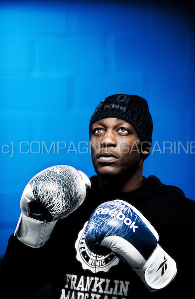 Belgian-Congolese football player Geoffrey Mujangi Bia (Belgium, 16/12/2012)