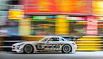 Renger Van Der Zande races the Macau GT Cup during the 61st Macau Grand Prix on November 16, 2014 at Macau street circuit in Macau, China. Photo by Aitor Alcalde / Power Sport Images