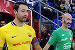 League LNFS 2017/2018 - Game 10.<br /> FC Barcelona Lassa vs CA Osasuna Magna: 3-3.<br /> Paco Sedano &amp; Eseverri.