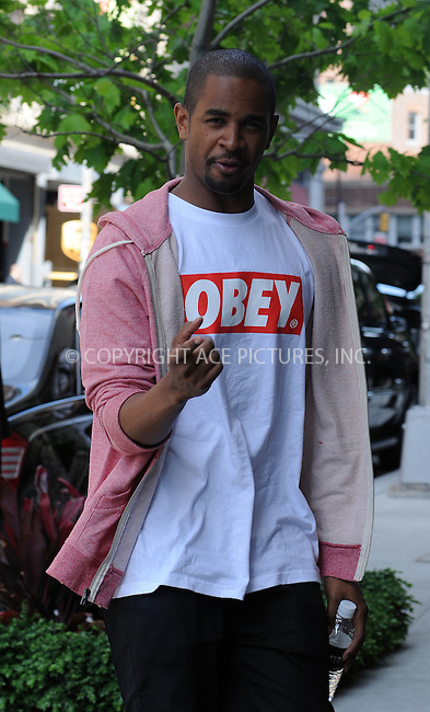 WWW.ACEPIXS.COM . . . . .  ....May 17 2012, New York City....Actor Damon Wayans Jr walks in Soho on May 17 2012 in New York City....Please byline: CURTIS MEANS - ACE PICTURES.... *** ***..Ace Pictures, Inc:  ..Philip Vaughan (212) 243-8787 or (646) 769 0430..e-mail: info@acepixs.com..web: http://www.acepixs.com