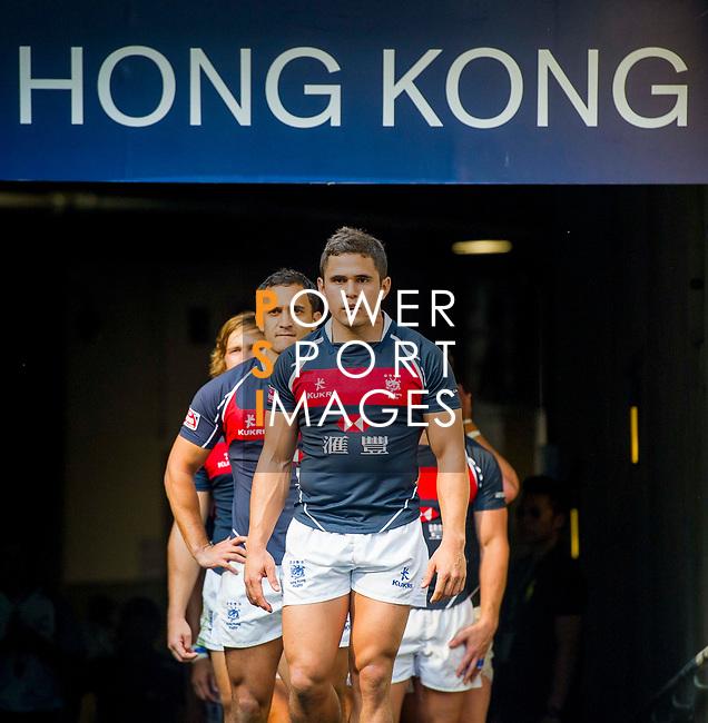 Spain play Hong Kong on Day 2 of the Cathay Pacific / HSBC Hong Kong Sevens 2013 on 23 March 2013 at Hong Kong Stadium, Hong Kong. Photo by Manuel Queimadelos / The Power of Sport Images