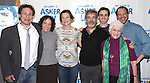 Gordon Edelstein, Naama Potok, Jenny Bacon, Mark Nelson, Ari Brand, Adena Potok and Aaron Posner attends the Meet & Greet for the new Off-Broadway Play 'My Name Is Asher Lev'  at the Davenport Studios on 10/22/2012 in New York City.