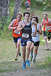 Eagle River's Nick Carl placed third with a time of 16:28.83 at  the Palmer Invitational Saturday, Sept 2, 2017.  Photo for the Star by Michael Dinneen