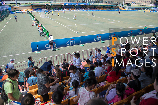 The crowd of spectators during the HKFC Citi Soccer Sevens 2017 on 27 May 2017 at the Hong Kong Football Club, Hong Kong, China. Photo by Marcio Rodrigo Machado / Power Sport Images
