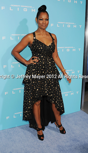 HOLLYWOOD, CA - OCTOBER 23: Garcelle Beauvais arrives at the 'Flight' - Los Angeles Premiere at ArcLight Cinemas on October 23, 2012 in Hollywood, California.