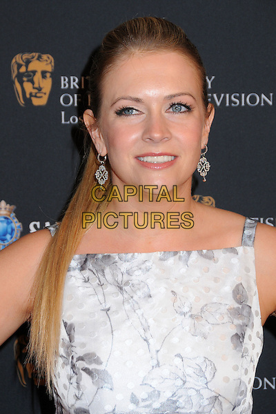 MELISSA JOAN HART .17th Annual BAFTA Los Angeles Awards Season Tea Party held at the Four Seasons Hotel, Beverly Hills, California, USA, 15th January 2011..portrait headshot earrings grey gray  white print .CAP/ADM/BP.©Byron Purvis/AdMedia/Capital Pictures.