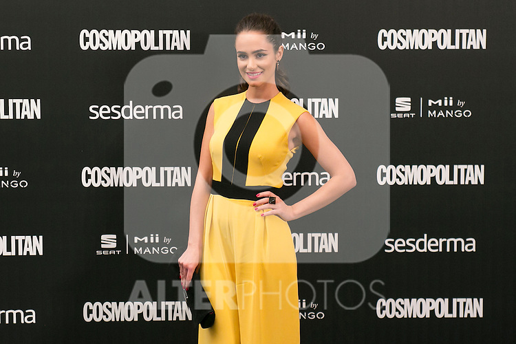 Alicia Sanz attend the photocall of the Cosmopolitan Fun Fearless Female 2014 Awards at the Ritz Hotel in Madrid, Spain. October 20, 2014. (ALTERPHOTOS/Carlos Dafonte)