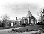 Mt Lebanon PA:  The additional to the Sunset Hills United Presbyterian Church on Country Club Drive completed - 1954.  Brady and Sarah Stewart were members of the congregation.