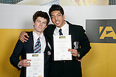 Boys Wrestling finalists Sean Dowd & Faisal Attayee. ASB College Sport Young Sportperson of the Year Awards 2007 held at Eden Park on November 15th, 2007.