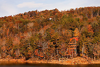 A vacation rental property on the shoreline of Watauga Lake in Northeastern Tennessee.