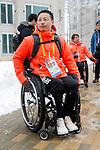 Kenji Natsume (JPN), MARCH 8, 2018 - : IPC released the Paralympic Village to the media at Paralympic Village during the PyeongChang 2018 Paralympics Winter Games in Pyeongchang, South Korea. (Photo by Yusuke Nakanishi/AFLO SPORT)