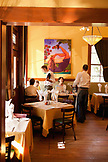 USA, California, Sonoma, guests enjoy lunch at The Girl and the Fig restaurant