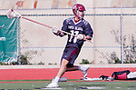 Manhattan Beach, CA 02-11-17 - Ryan Buchanan (Santa Clara #11) in action during the MCLA non-conference game between LMU (SLC) and Santa Clara (WCLL).  Santa Clara defeated LMU 18-3.