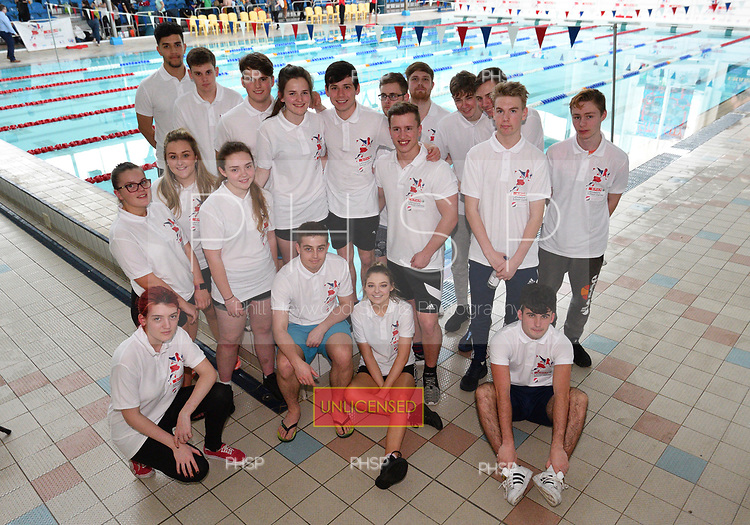 15/03/2017 SPAR Lancashire School Games Disability Swim Gala<br /> <br /> <br /> <br /> <br /> Editorial use only. No Syndication/Photosales or third party use