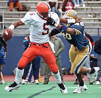 Syracuse quarterback Donovan McNabb, November 11, 1995.
