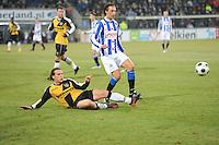 VOETBAL: SC HEERENVEEN: Abe Lenstra Stadion, 17-02-2012, SC-Heerenveen-NAC, Eredivisie, Eindstand 1-0, Geert Arend Roorda, Robbert Schilder, ©foto: Martin de Jong