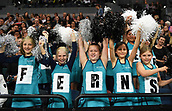 5th October 2017, Spark Arena, Auckland, New Zealand; Constellation Cup, New Zealand Silver Ferns versus Australia Diamonds;   Young New Zealand netball fans