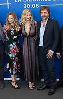 Michelle Pfeiffer, Jennifer Lawrence, Javier Bardem at the &quot;Mother!&quot; photocall, 74th Venice Film Festival in Italy on 5 September 2017.<br /> <br /> Photo: Kristina Afanasyeva/Featureflash/SilverHub<br /> 0208 004 5359<br /> sales@silverhubmedia.com