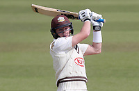 Ollie Pope of Surrey in batting action during Surrey CCC vs Essex CCC, Specsavers County Championship Division 1 Cricket at the Kia Oval on 14th April 2019