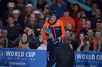 SCHAATSEN: HEERENVEEN: 07-03-2020, IJsstadion Thialf, ISU World Cup Final, Final Podium Long distances Men, Patrick Roest (NED), ©foto Martin de Jong