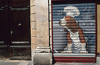 France/06/Alpes-Maritimes/Nice: Façade d'un restaurant rue de la Préfecture