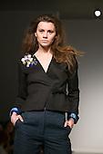 20 February 2009. London Fashion Week. Designer Julia Smith showing at Vauxhall Fashion Scout.