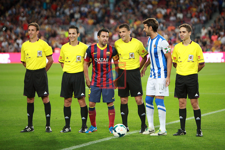 League BBVA 2013/2014 - Game: 06.<br /> 2013-09-24: FC Barcelona vs R. Sociedad: 4-1.
