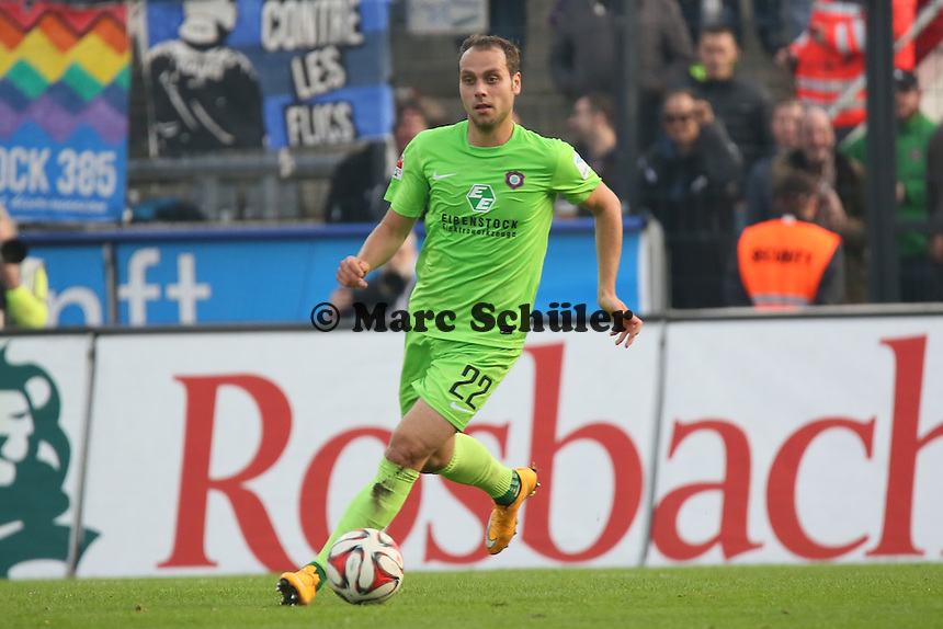 Rico Benatelli (Aue) - FSV Frankfurt vs. FC Erzgebirge Aue, Frankfurter Volksbank Stadion