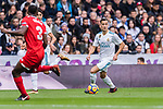 Lucas Vazquez of Real Madrid (R) in action during the La Liga 2017-18 match between Real Madrid and Sevilla FC at Santiago Bernabeu Stadium on 09 December 2017 in Madrid, Spain. Photo by Diego Souto / Power Sport Images